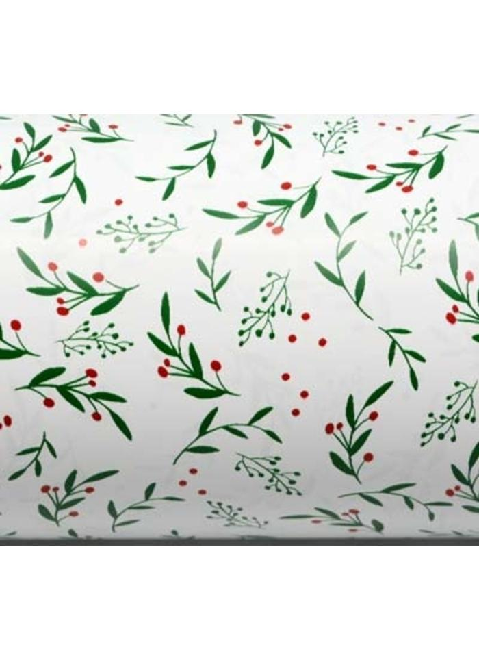 Wrapping Paper Roll - Christmas Holly