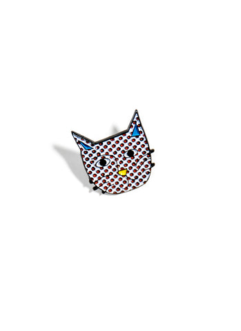 Kittenstein Enamel Pin