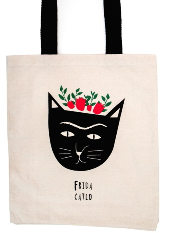 Niaski Large Tote Bag - Frida Catlo