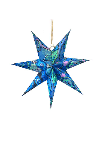 Better World Arts Handmade Paper Star - Theo Hudson