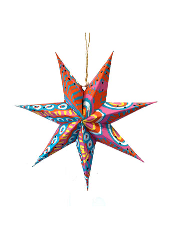 Better World Arts Handmade Paper Star - Murdie Morris