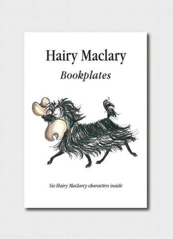 Hairy Maclary and Friends Bookplates
