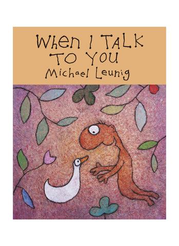 When I Talk to You (book)