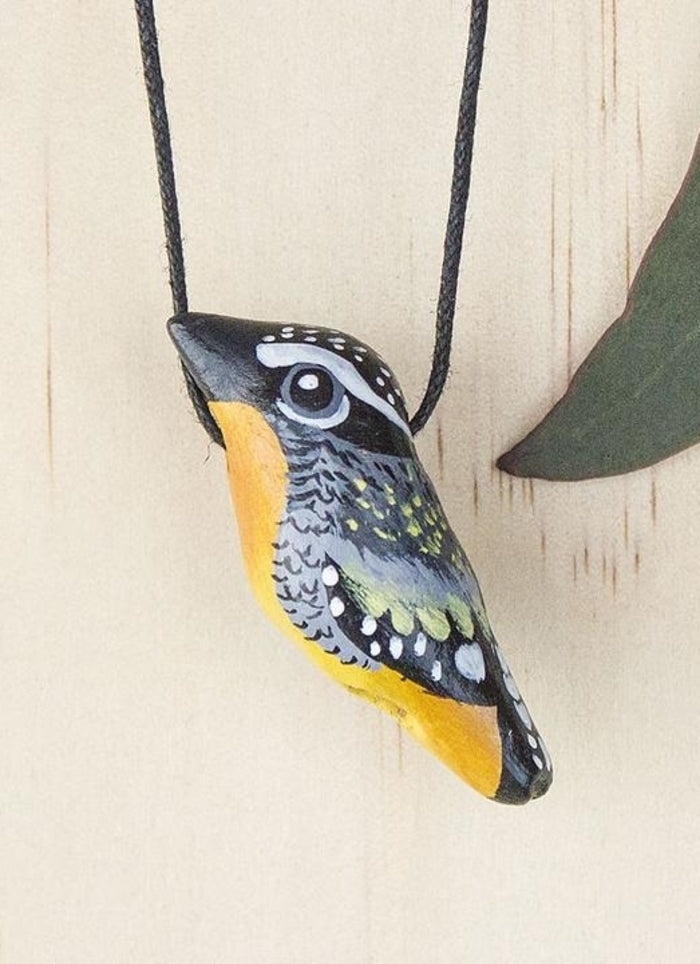 Songbird Whistle Necklace - Spotted Pardalote