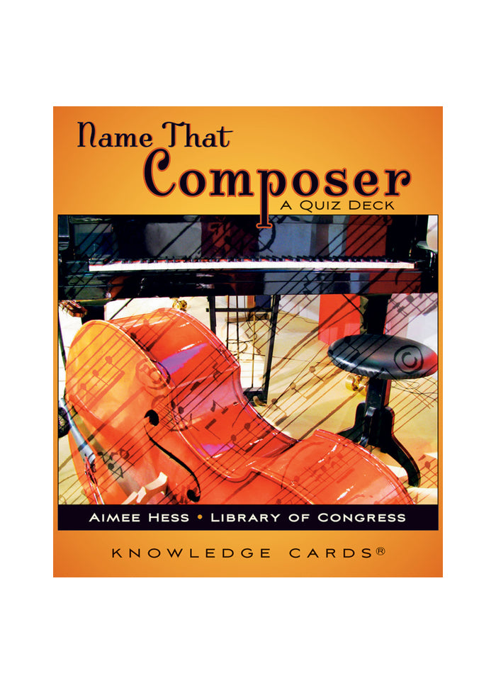 Name That Composer: A Quiz Deck (pack)