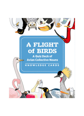 A Flight of Birds: A Quiz Deck of Avian Collective Nouns (pack)