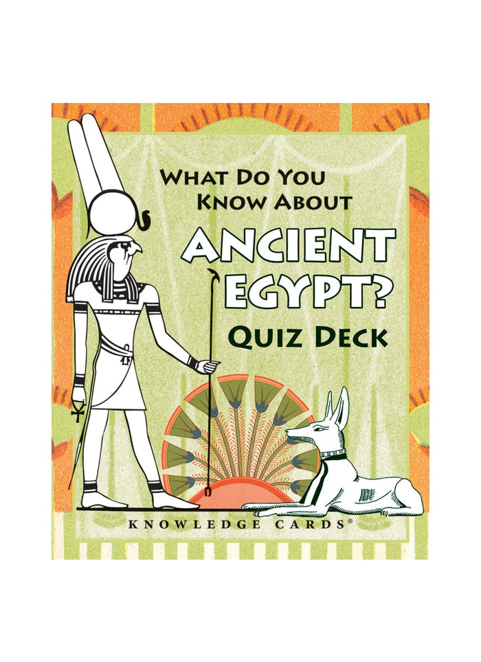 What Do You Know About Ancient Egypt? Quiz Deck (pack)