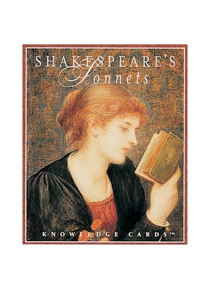 Shakespeare's Sonnets Knowledge Cards (pack)