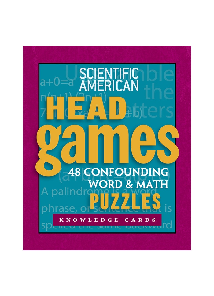 Scientific American Head Games: Knowledge Cards (pack)