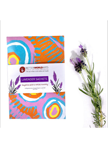 Lavender Sachets (twin pack) - six designs