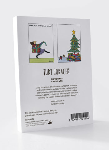 ILF Charity Christmas Card Pack - Judy Horacek (0136) - back