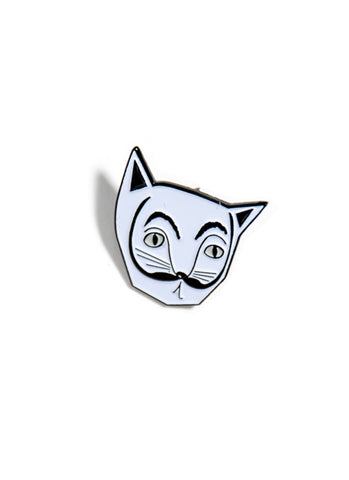 Salvador Catli Cat Enamel Pin