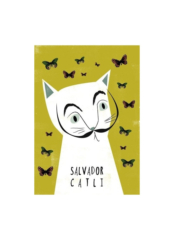 Niaski - Salvador Catli Cat Art Card