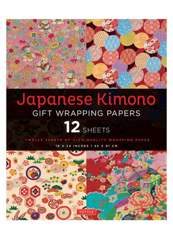 Japanese Kimino Gift Wrapping Papers