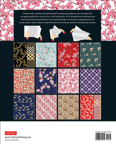 Cherry Blossom Gift Wrapping Papers