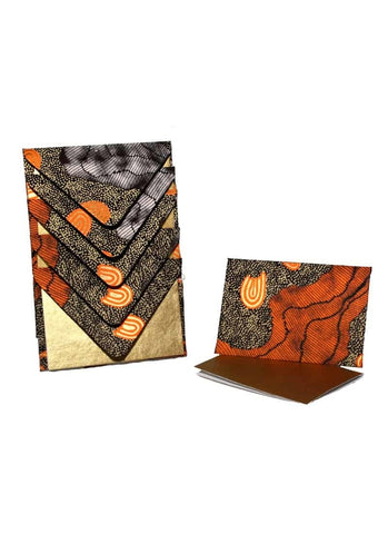Better World Arts Handmade Envelope & Gift Card Pack - Damien & Yilpi Marks