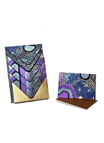 Better World Arts Handmade Envelope & Gift Card Pack - Pauline Nampijinpa Singleton