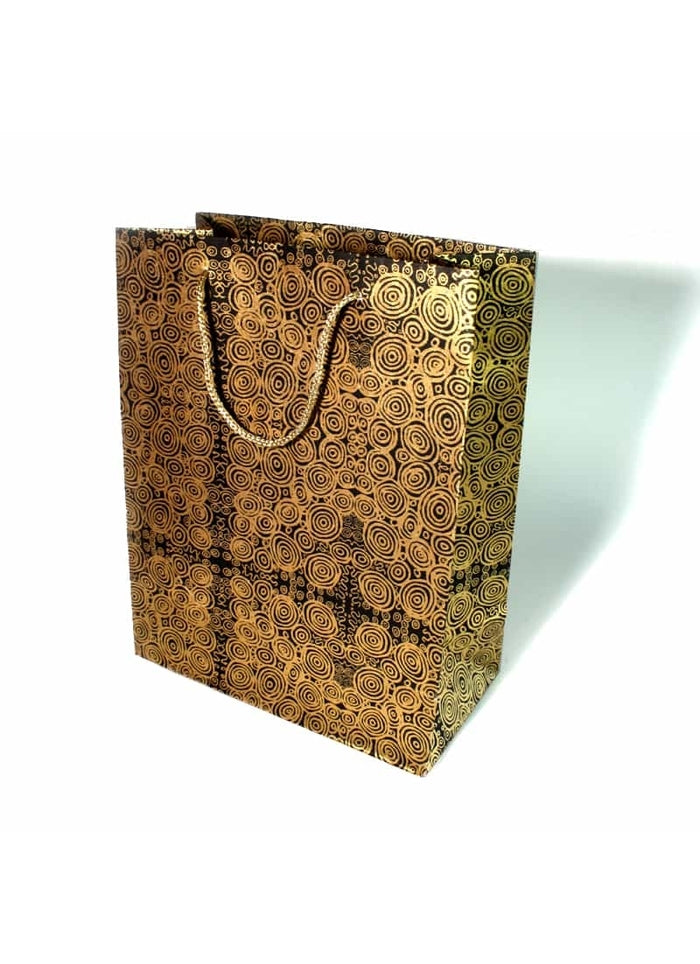 Better World Arts Handmade Paper Gift Bag - Nelly Patterson