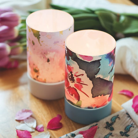 Candle Decor Kit - Pastel Splatter by Amy Sia (fragrance free)