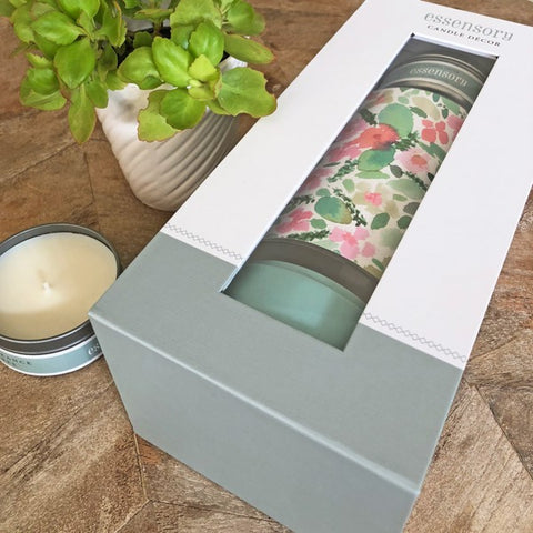 Candle Decor Kit - Field of Flowers by Amy Sia (fragrance free)