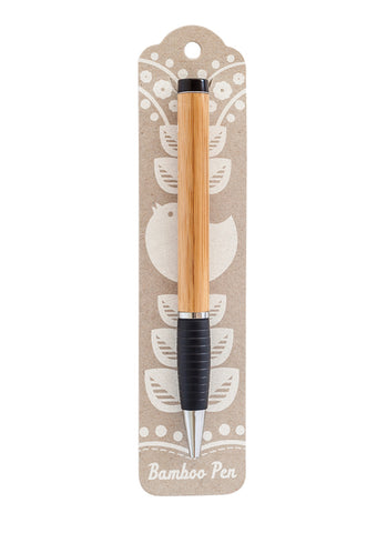Earth Greetings Bamboo Pen