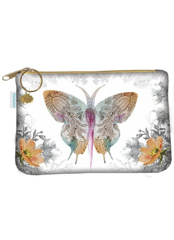 Coin Purse - Paisley Butterfly