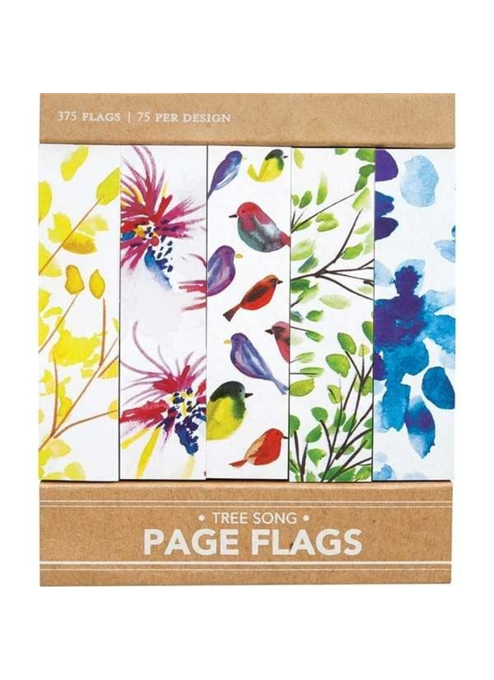 Page Flags - Tree song (Sticky Notes)