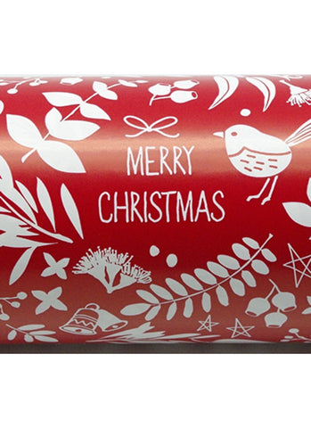 Wrapping Paper Roll - Christmas Flora