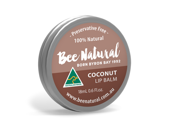 NEW LARGER TIN! Coconut LIP BALM 18mL