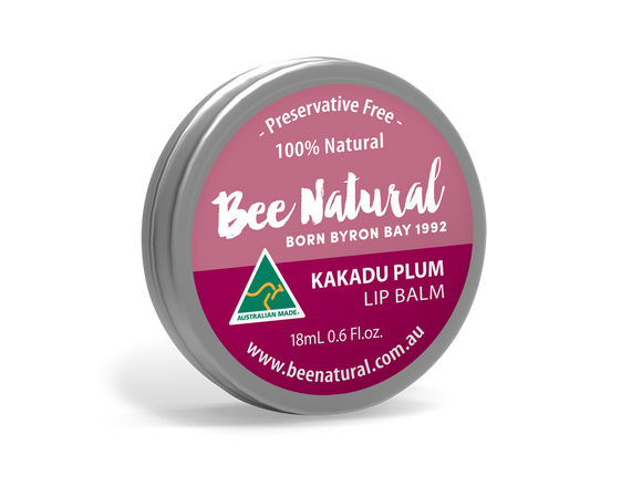 NEW LARGER TIN! Kakadu Plum LIP BALM 18mL
