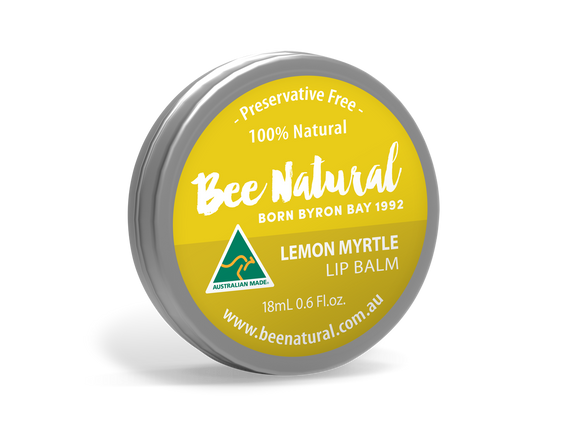 NEW LARGER TIN! Lemon Myrtle LIP BALM 18mL