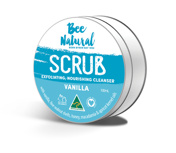 New! Vanilla FACE SCRUB 100mL