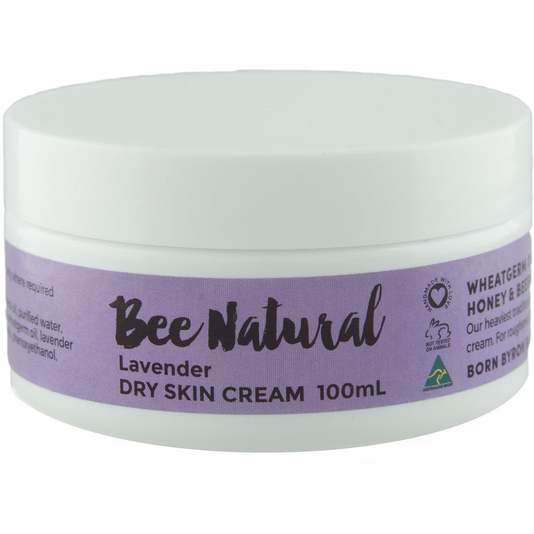 Lavender DRY SKIN CREAM - 100mL & 400mL