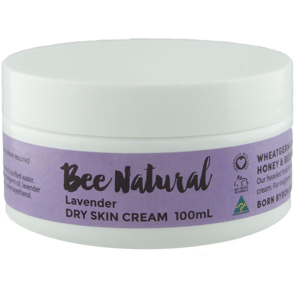 Lavender DRY SKIN CREAM - 100mL, 250mL & 400mL