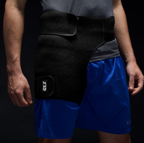 Gez Gear Hip Compression and Heat + Ice Gel Pack Combo