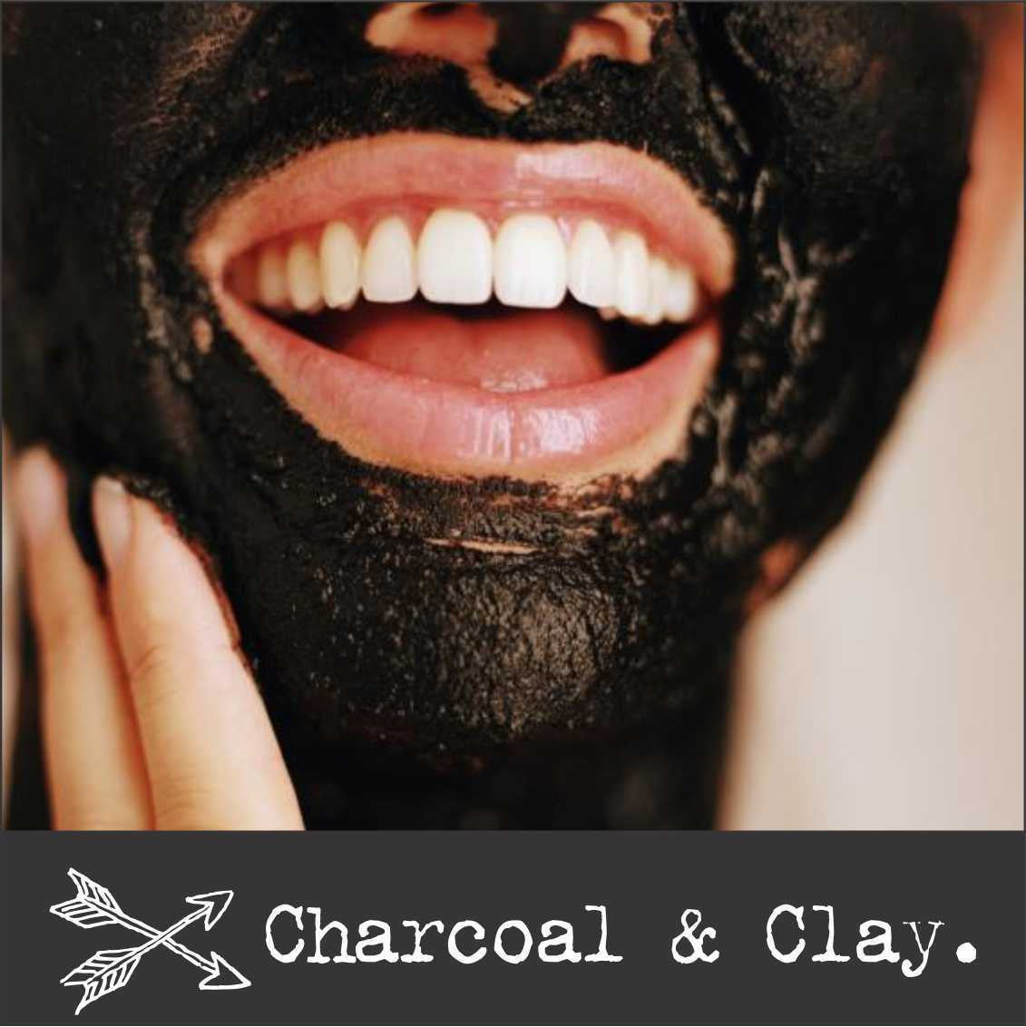 Diy Face Mask Activated Charcoal Powder Deep Cleanse Detox: PEPPERMINT Coconut Oil Pulling Mouthwash + CHARCOAL