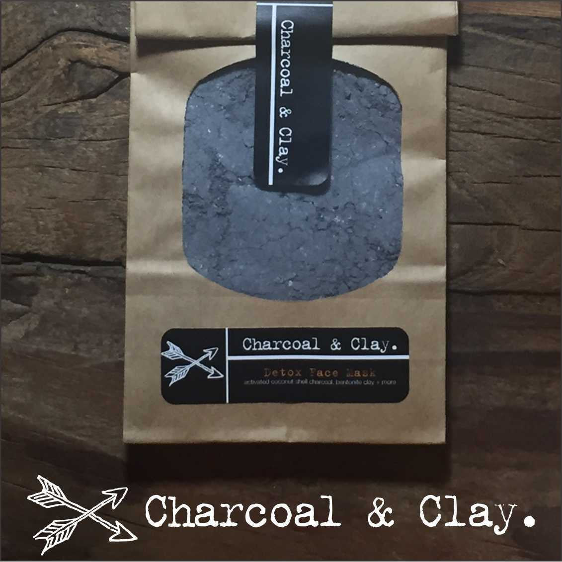 Bentonite Clay And Activated Charcoal Face Mask: PEPPERMINT Coconut Oil Pulling Mouthwash + CHARCOAL