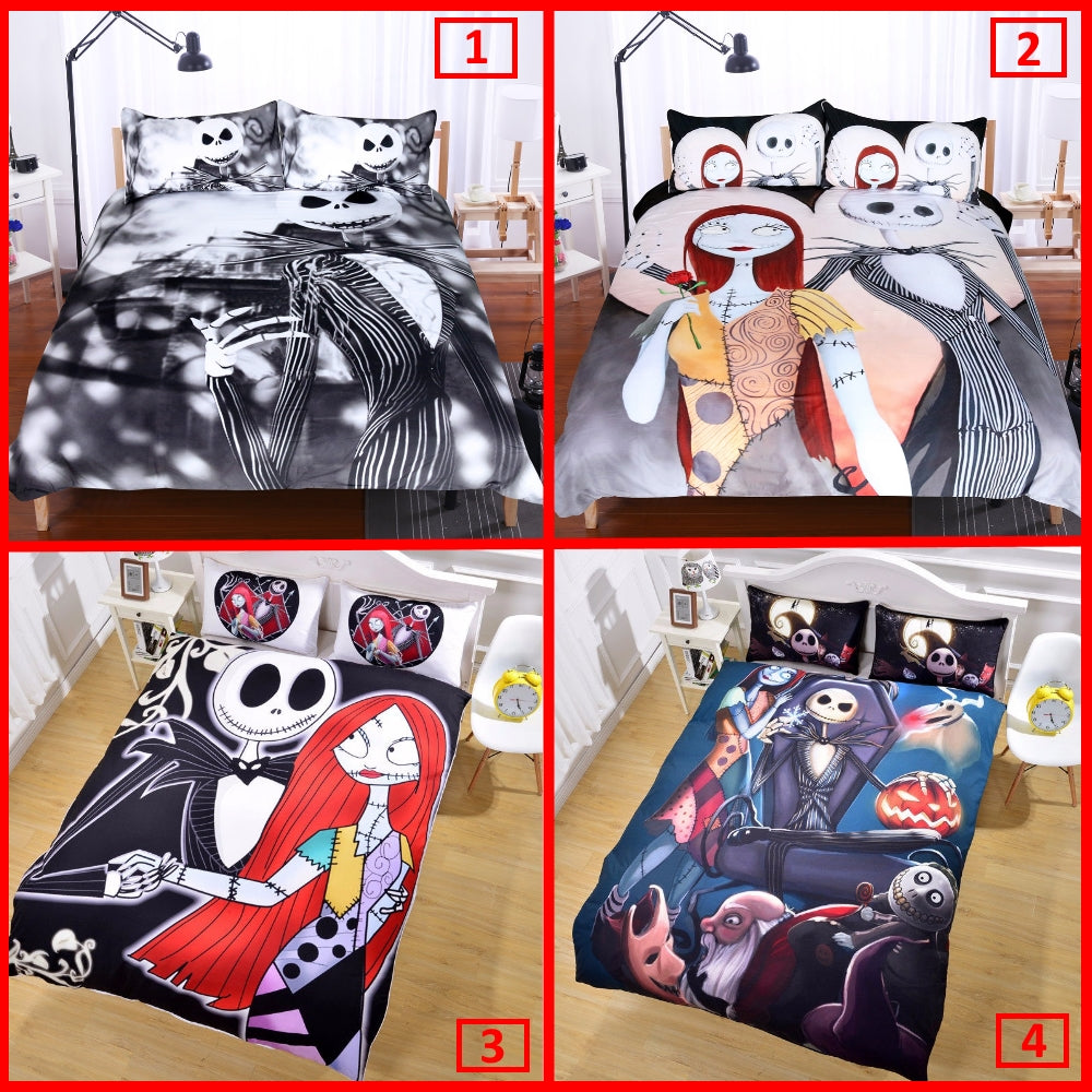 Exclusive - Nightmare Before Christmas Bedding Set – Superb Gear