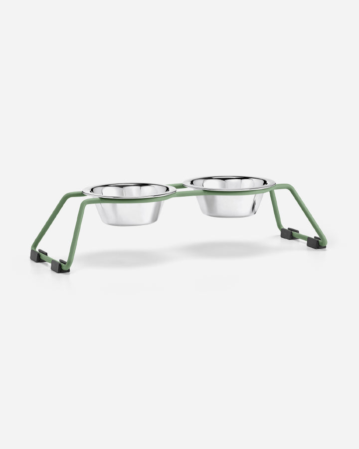 Image of   CENA - dog feeder fra MiaCara - Dusty Green, Small