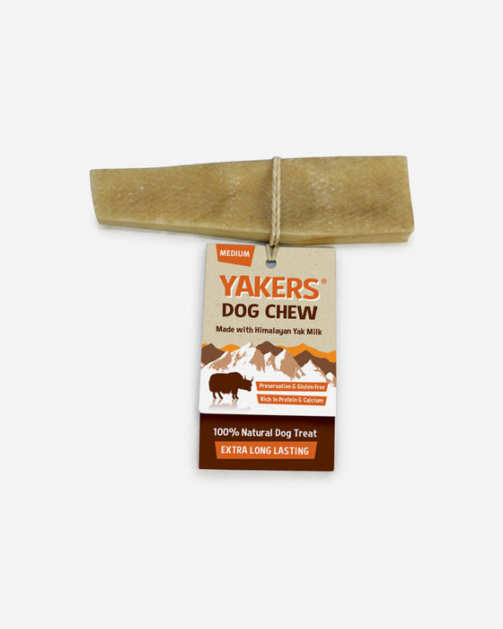 Yakers Dog Chew - Himalayan Yak Milk (fl. str)