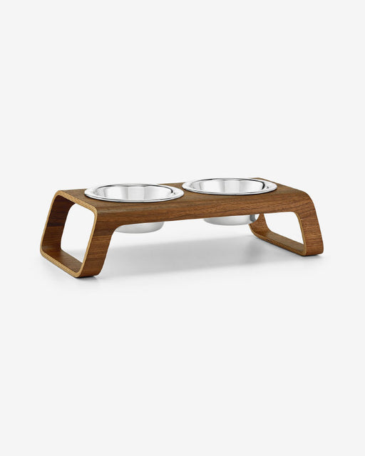 DESCO - Ash Wood Walnut - DogFeeder fra MiaCara - Valnød Small