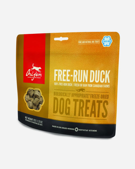 Orijen Frysetørret Treat - Free Run Duck - Petlux
