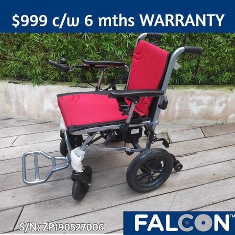 14kg Ultra-Lite Electric Wheelchair (Display Set)