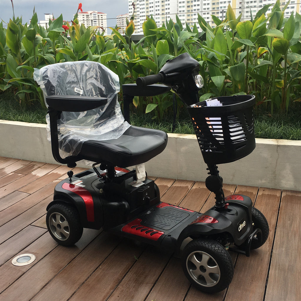 pre loved phoenix hd 4 wheel mobility scooter 1200 falcon mobility used scooter store. Black Bedroom Furniture Sets. Home Design Ideas