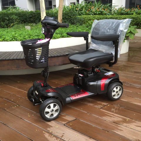 refurbished phoenix hd 4 wheel mobility scooter for sale falcon mobility used scooter store. Black Bedroom Furniture Sets. Home Design Ideas