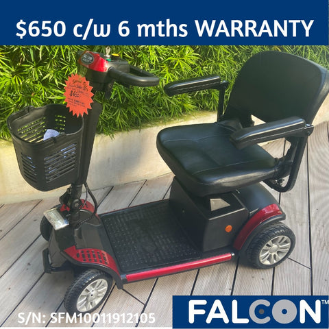 Pre-Loved Budget-Lite 4-Wheel Mobility Scooter