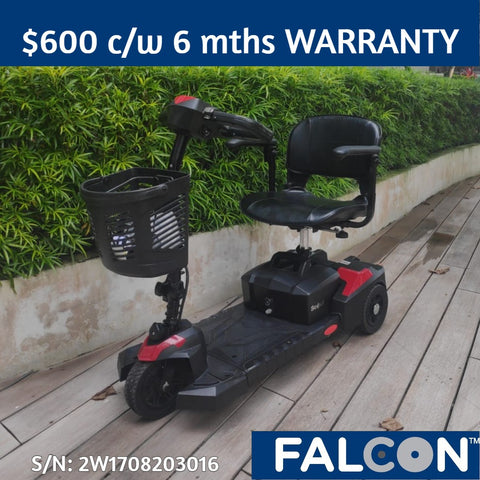Pre-Loved Scout 3-Wheel Mobility Scooter