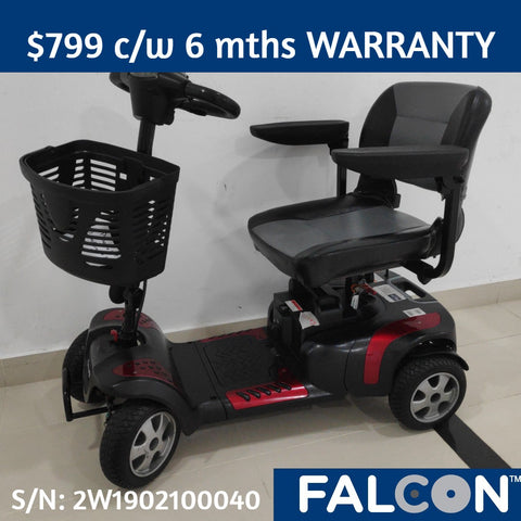 Pre-Owned Hand Phoenix HD 4-Wheel Mobility Scooter