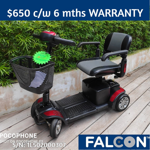 Pre-Owned Spitfire 4-Wheel Mobility Scooter c/w 6 months WARRANTY