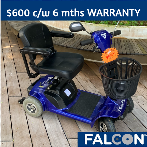 Pre-Owned Tornado Explorer 4-Wheel Mobility Scooter c/w 6 months WARRANTY